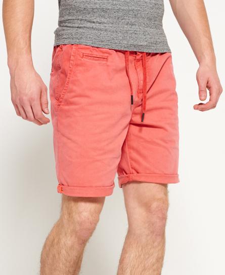 worldwide red Superdry International Sunscorched Beach Shorts