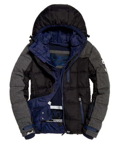 Superdry Dark Elements Kapuzenjacke