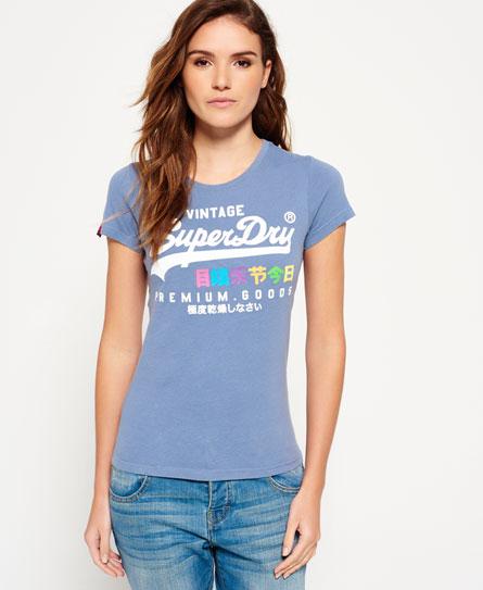 Superdry Premium Goods Rainbow T-Shirt