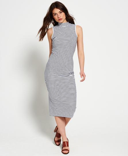Superdry Funnel Neck Midi Dress