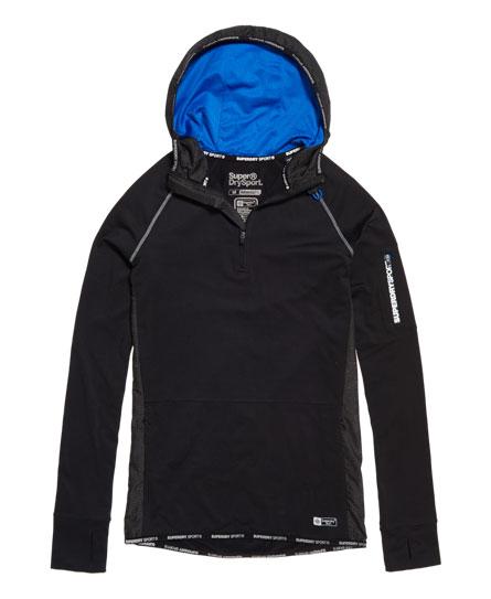 Superdry - Sudadera con capucha y media cremallera Sports Athletic - 2