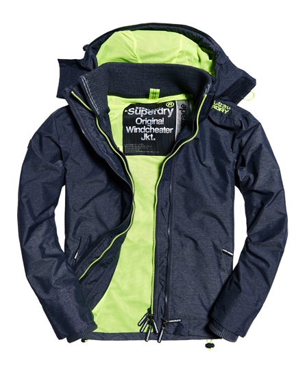 Superdry Pop Zip Hooded Technical Windcheater Jacket