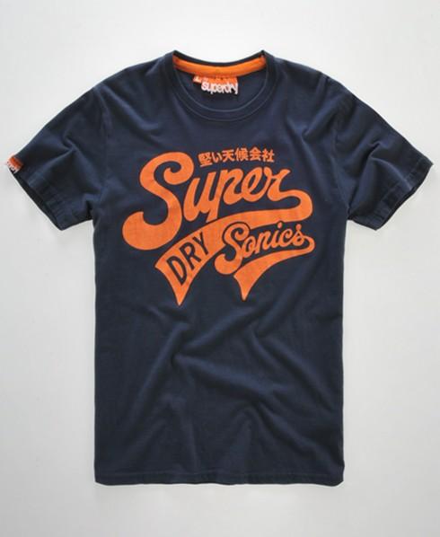 superdry super sonics t shirt herren t shirts. Black Bedroom Furniture Sets. Home Design Ideas