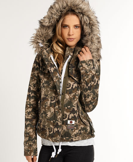 Superdry Ultimate Field Parka  Green