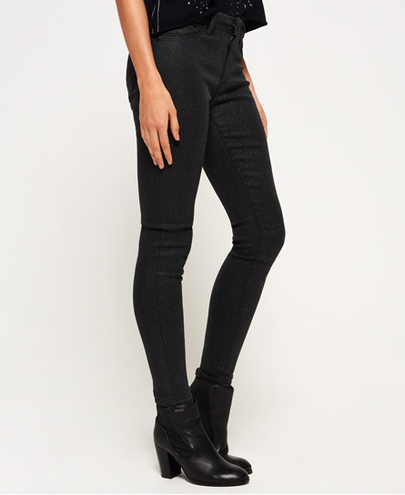 Alexia Skinny Sparkle Jeggings Superdry