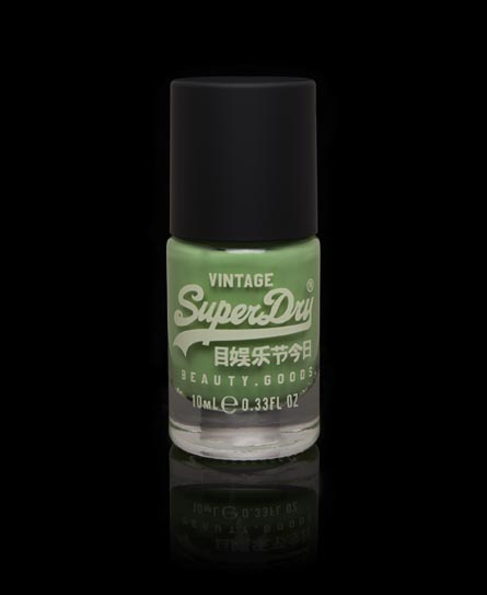 Superdry Nail Paint Green