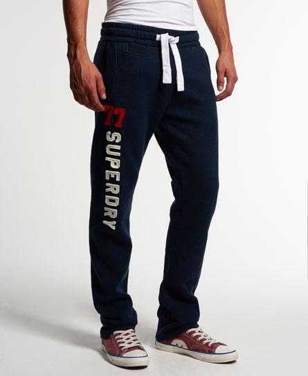 superdry applique slim fit jogginghose herren jogginghosen. Black Bedroom Furniture Sets. Home Design Ideas