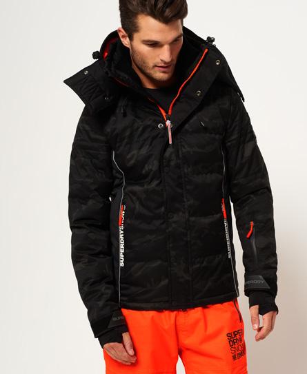 Superdry Snow ski-jas met dons