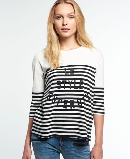 Superdry Superdry Nordic Breton T-shirt