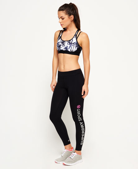 Superdry Core Gym Leggings Black