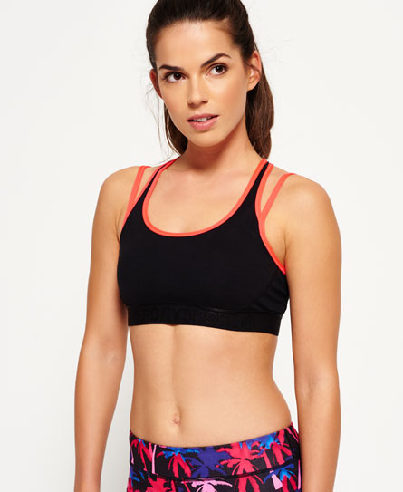 Superdry Gym Duo Strap bh
