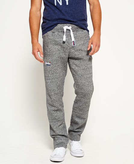 flint grey grit Superdry Orange Label Non-Cuffed Joggers