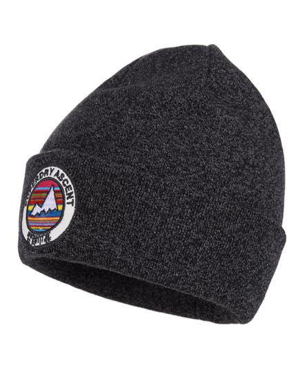 Superdry Ascent Beanie Grey