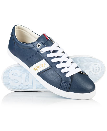Superdry Zapatillas Super Sleek Low Top Marino
