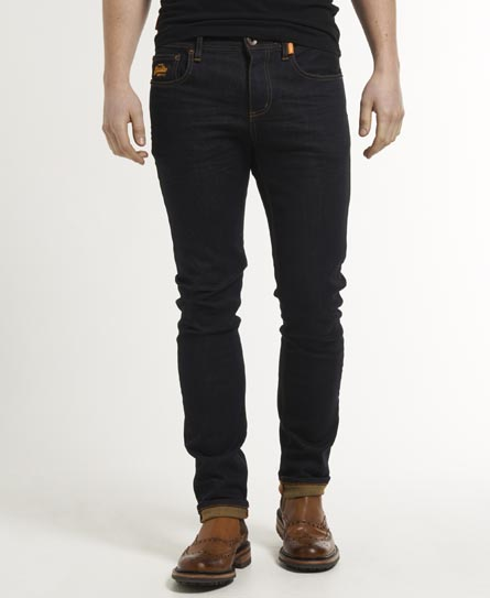 Superdry Blue Skinny Jeans Raw