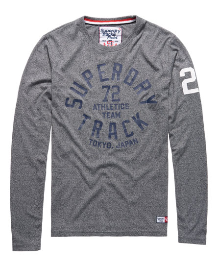 Superdry Trackster Long Sleeved T-Shirt