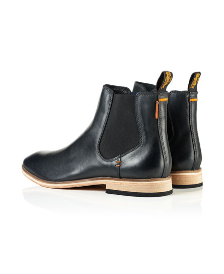 Superdry Meteora Chelsea Leather Boots