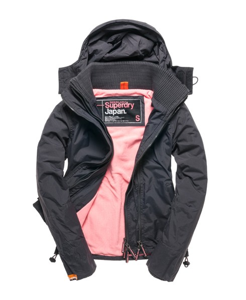 superdry polar windcheater jacke mit kapuze damen jacken m ntel. Black Bedroom Furniture Sets. Home Design Ideas