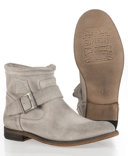Superdry Eva Boot White