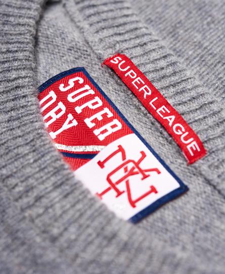 Superdry Team SD Varsity Knit Jumper