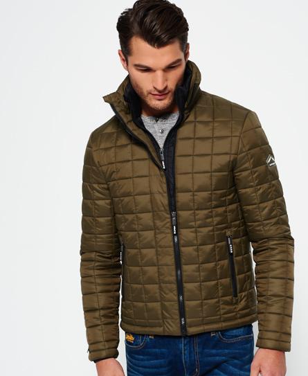 Box Quilt Fuji Jacket