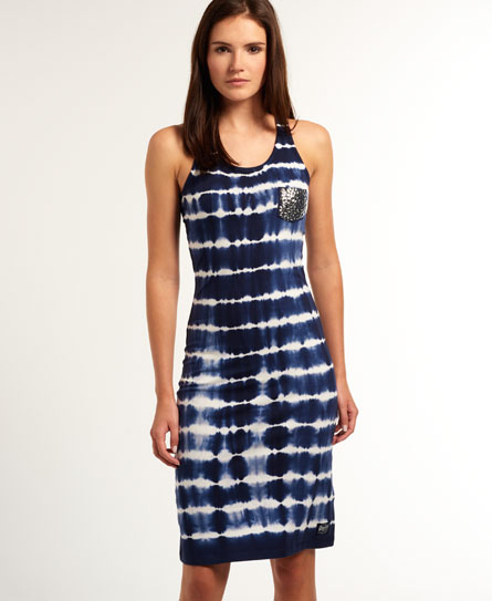 Superdry Tie Dye Sequin Midi Dress - Women&39s Dresses