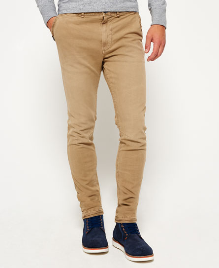 aviator beige Superdry Pantaloni a vita bassa in cotone Surplus Goods