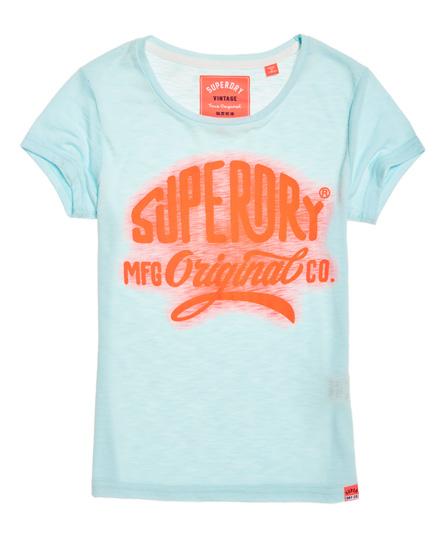 Se Superdry Superdry MFG Glow T-shirt ved SuperDry