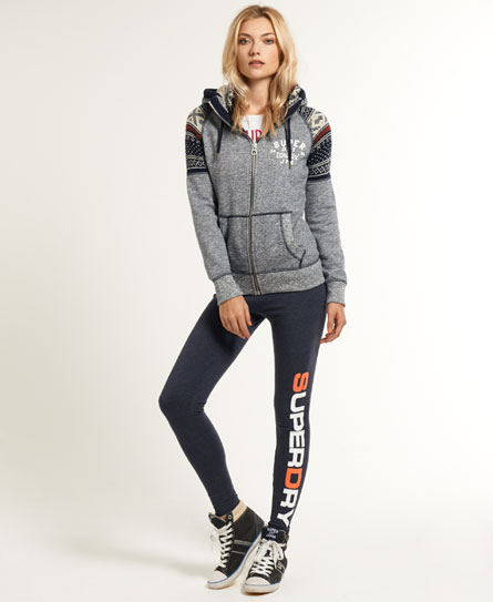 Superdry Super D Leggings Navy