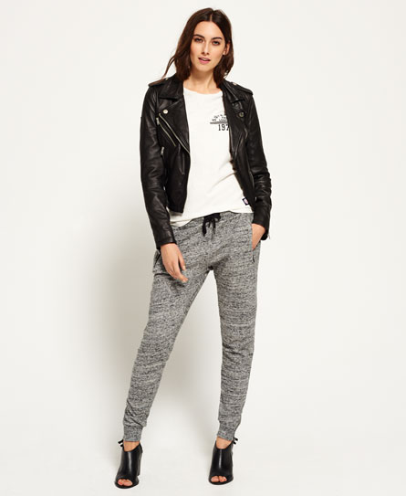 storm grey Superdry Luxe Fashion Joggers