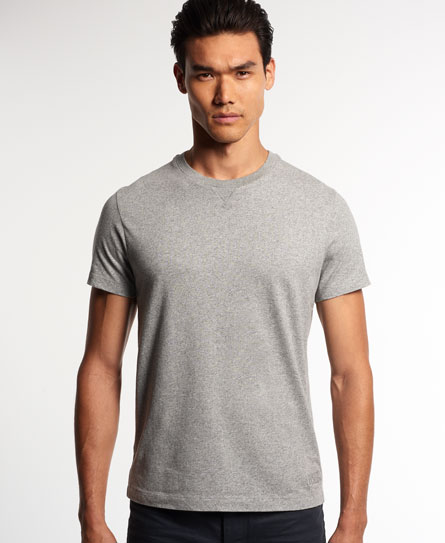 pale grey grit Superdry T-shirt girocollo IE Classic