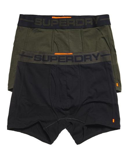 Se Superdry Superdry Sport boksershorts, 2-pak ved SuperDry