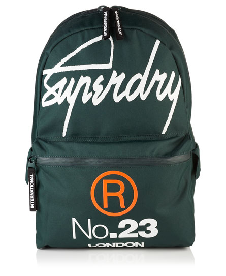 Superdry Zaino International Montana Verde