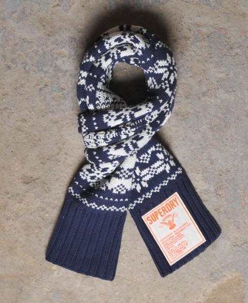 Fairisle Scarf,Mens,Other Accessories
