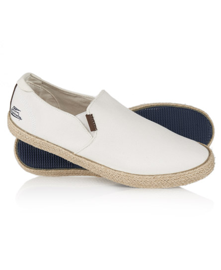 Superdry Deckhand Shoes White