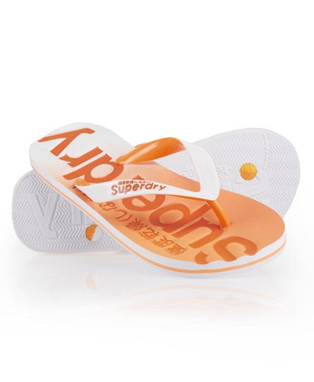 Superdry Fade Flip Flop Orange