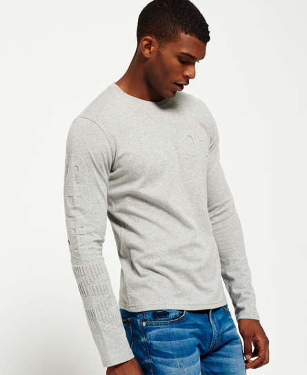 Superdry NY Embossed Long Sleeve T-shirt