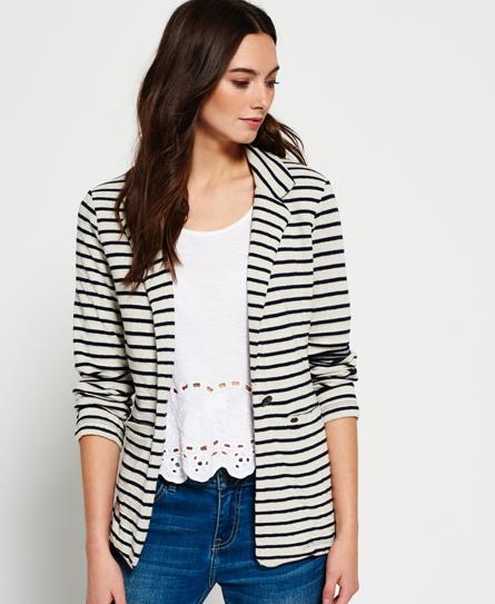Nautical Jersey Blazer