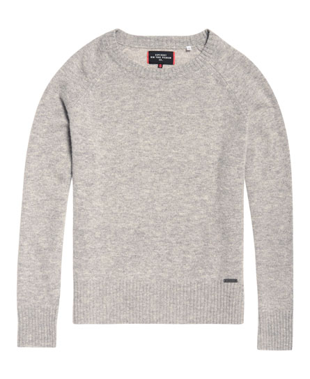 Superdry Downtown Raglan Knitted Jumper