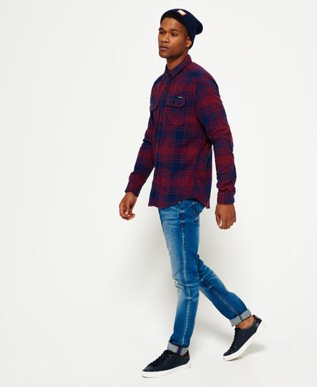 Superdry Milled Flannel skjorte