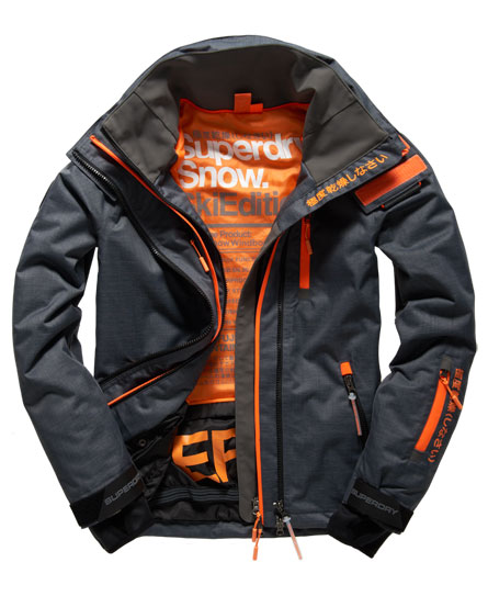 superdry veste snow wind vestes pour homme. Black Bedroom Furniture Sets. Home Design Ideas
