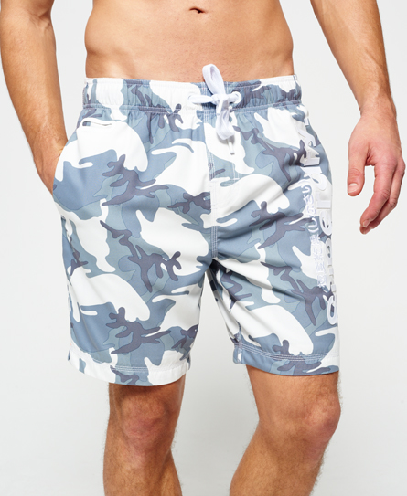 Superdry Premium Neo Camo Swim Shorts