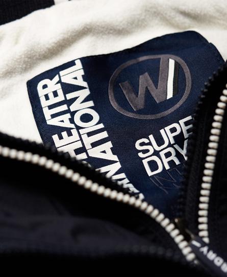 Superdry Chaqueta con capucha, cremallera y botones automáticos Arctic SD