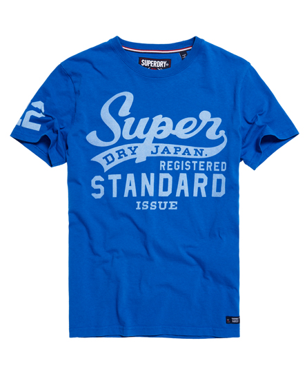 royal blue Superdry Standard Issue T-shirt