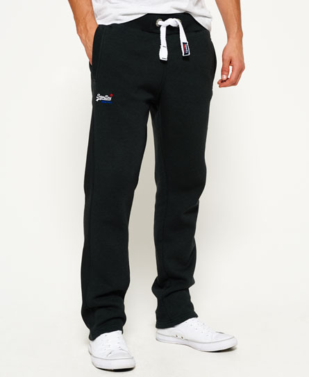 oil black Superdry Orange Label Non-Cuffed Joggers