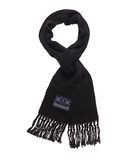 Superdry Highlander Scarf Navy