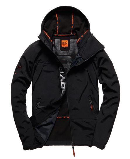 Superdry Black Traverse Jacket Black