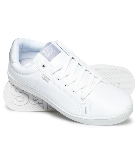 optic/argent Superdry Baskets SD Tennis