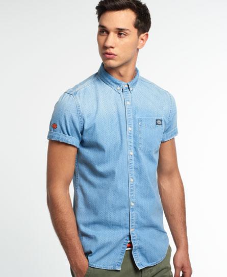 Superdry London Loom Shirt Blue
