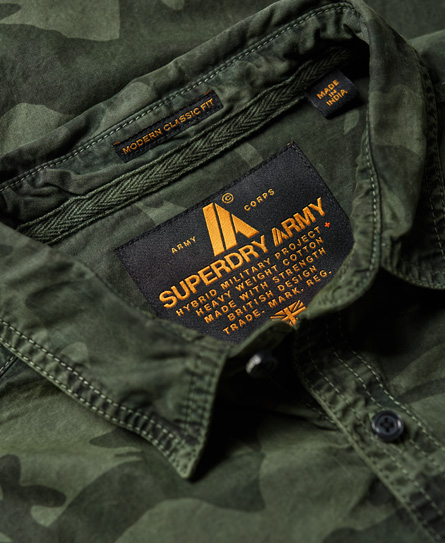 Superdry Combat Long Sleeve Shirt